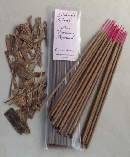 Pure Vietnamese Agarwood Incense Sticks - 20 grams - Connoisseur Quality
